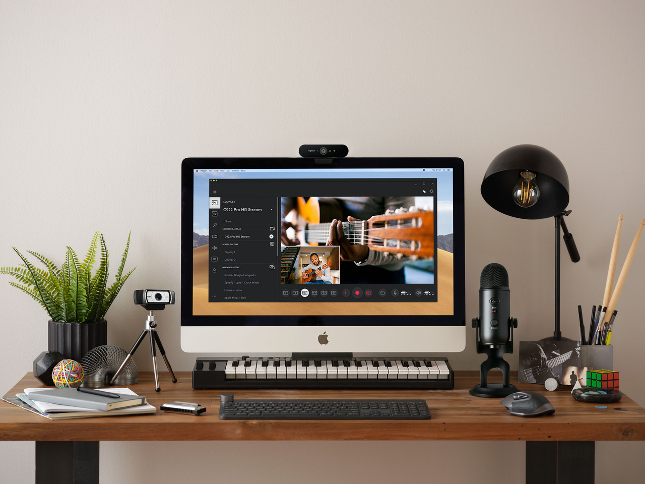 Logitech Workspace Solutions Musical Banner Ad
